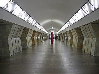 Sukharevskaya (Moscow Metro) - Image: Sukharevskaya mm