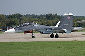 Sukhoi Su-30SM, Russia - Air Force JP7671112.jpg