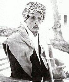 Somali Sultan Mohamoud Ali Shire of the Warsangali Sultanate wearing a  turban. 6fc2bd755f1