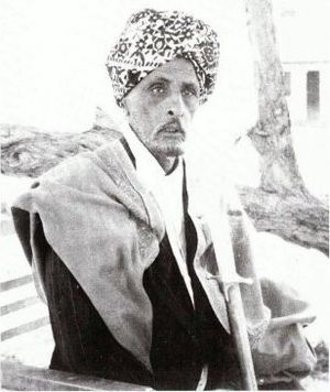 Turban - Somali Sultan Mohamoud Ali Shire of the Warsangali Sultanate wearing a turban.