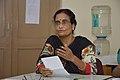 Sumita Roy Dutta Talks - West Bengal Wikimedians Strategy Meetup - Kolkata 2017-08-06 1654.JPG