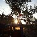 Sun set in cbsua.jpg