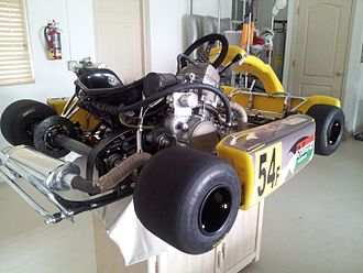 Superkart - Image: Superkart With 250cc Shifter Kart Motor