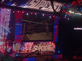 The Superstars version of universal WWE entrance set introduced on January 21, 2008 for WWE's high-definition broadcasting debut.