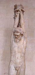 Marsyas au supplice, ?uvre romaine de l'époque impériale (Ier?IIesiècle)