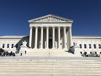 The Supreme Court of the United States building. Supreme Court of the U.S. Building.jpg