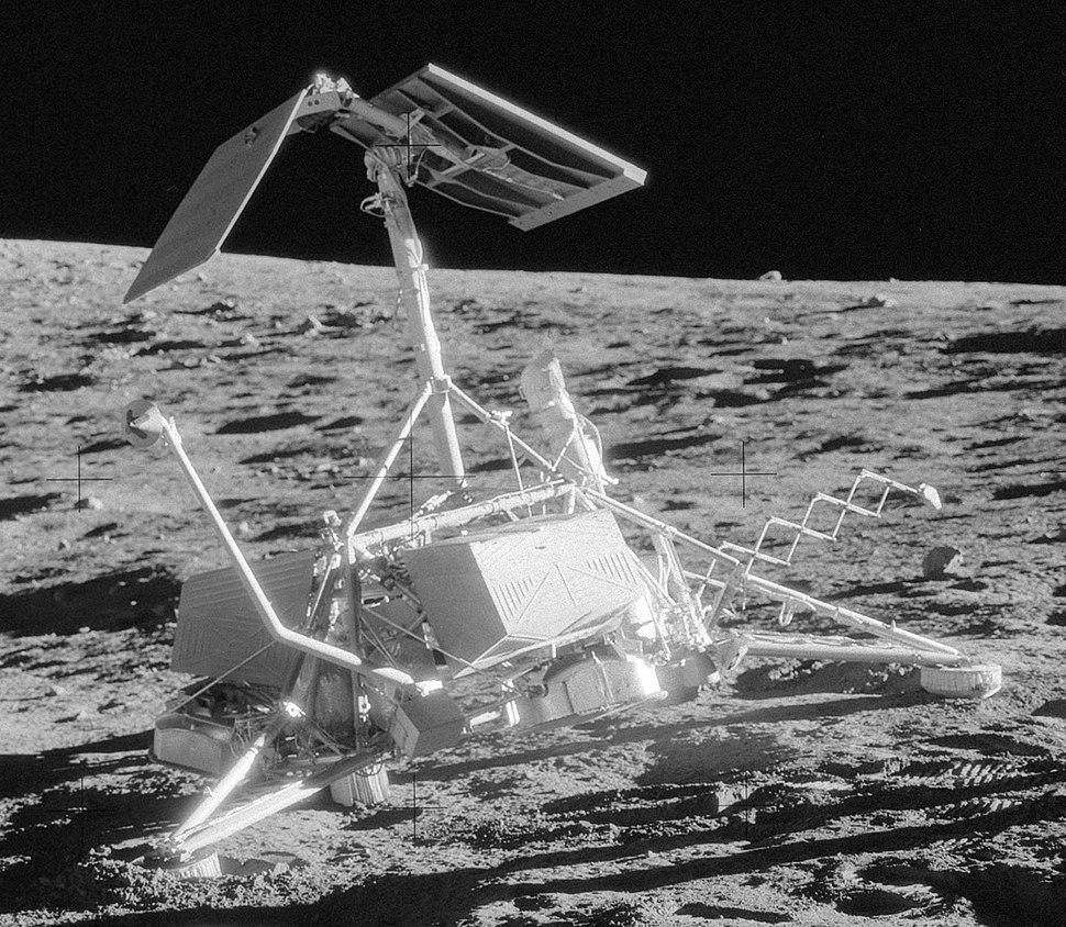Surveyor 3 on Moon
