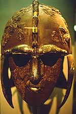 The famous Sutton Hoo helmet