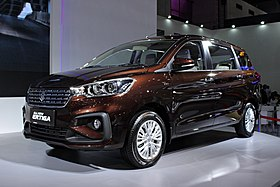 Upcoming 7 Seater Suv In India 2018 >> Suzuki Ertiga - Wikipedia