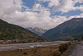 Svaneti River near Mestia airfield-Upė prie Mestijos aerodromo (3872439384).jpg