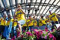 Sweden national under-21 football team celebrates in Kungsträdgården 2015-19.jpg
