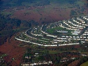 Crumlin, Caerphilly - Image: Swffryd geograph.org.uk 108420