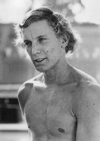 Tim Shaw (swimmer) - Shaw in 1976
