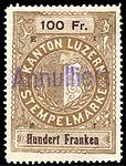 Switzerland Lucerne 1897 revenue 6 100Fr - 71 - E 1 97.jpg