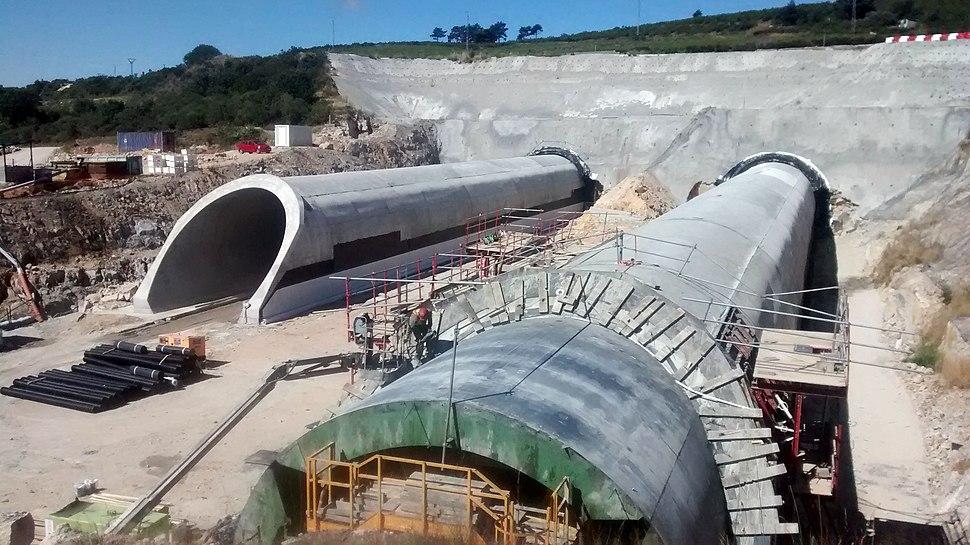 Túneles de la línea de alta velocidad Olmedo-Zamora-Galicia