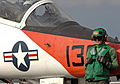 T-45 Goshawk training aircraft, USS Harry S. Truman (CVN 75).jpg