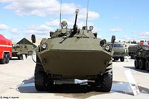 BTR-90 - Image: TB2015Exhibition P1 20