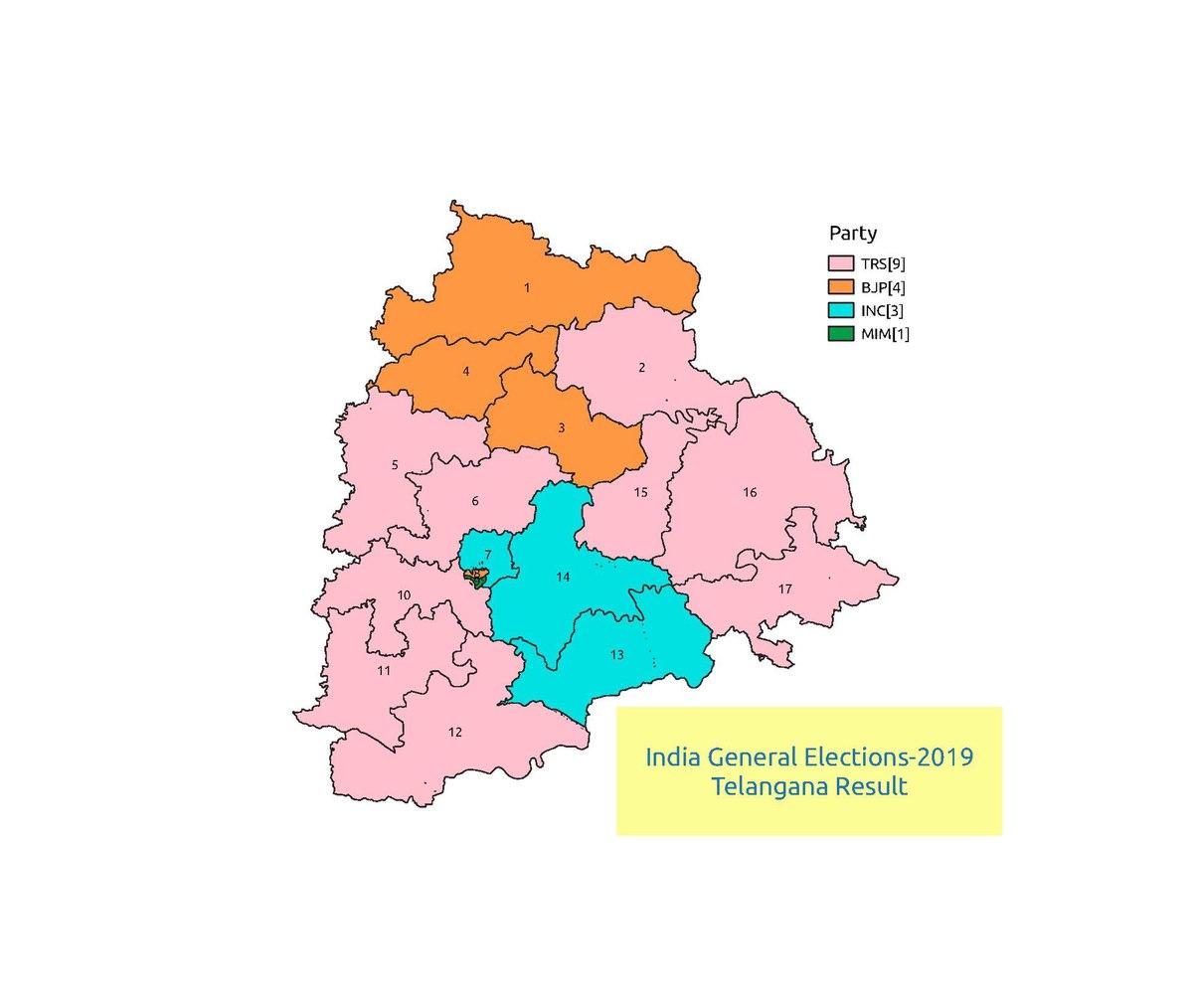 2019 Indian general election in Telangana - Wikipedia