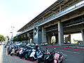 THSR Tainan Station View from Gueiren Avenue 20130810.JPG