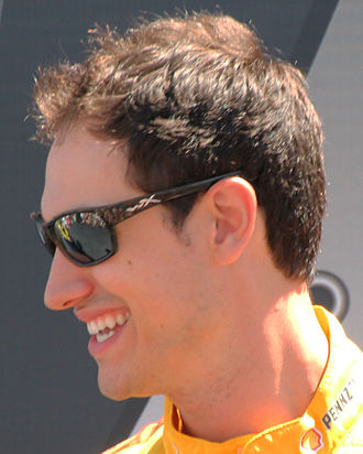 Joey Logano - Logano at the 2015 Toyota/Save Mart 350