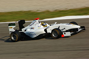 GP3 Series - A typical GP3/10 car driven by Tom Dillmann in 2011