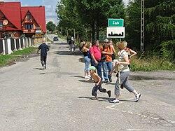 Ząb - najwyżej położona miejscowość w Polsce
