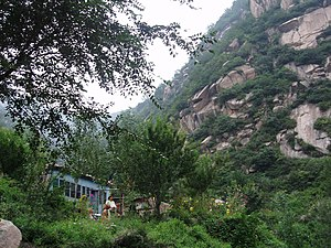 Taihang Mountains - Image: Taihang Mountain 2
