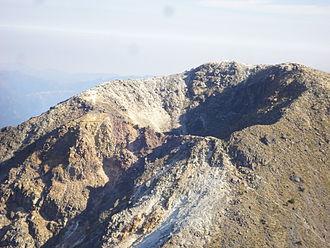 Volcán Tajumulco - Crater of the Volcán Tajumulco
