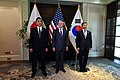 Takeshi Iwaya, James Mattis and Jeong Kyeong-doo 181019-D-BN624-091 (31543140888).jpg