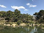 Takueichi Pond in Shukkei Garden 4.jpg