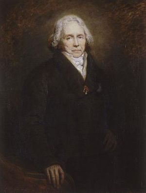 Adolphe Thiers - Prince Talleyrand, Thiers' political mentor, in 1828