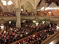 Tampere Cathedral on 20th December 2015 Christmas carols 2.jpg