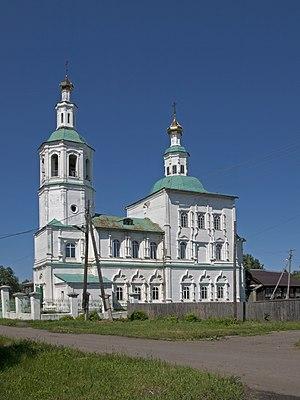 Tara, Omsk Oblast - The St. Savior Church in Tara
