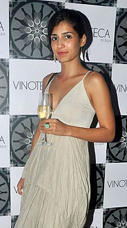 Tara D'Souza at launch of Sula's Vinoteca