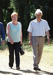 Halonen and her husband Dr. Pentti Arajärvi in 2010. President ... 31278ca2aa