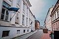 Tartu streets during COVID-19 pandemic, Hugo Treffner Gymnasium.jpg