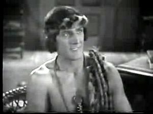 Tarzan in film and other non-print media - Frank Merrill as Tarzan in Tarzan the Tiger (1929)