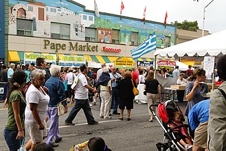 Cuisine in Toronto - The Taste of Danforth is an annual festival in Toronto's Greektown celebrating Greek food and culture.