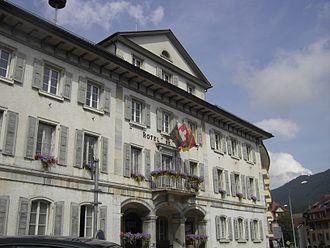 Tavannes - Hotel de Ville