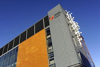 Teesside University - Teesside University's Phoenix Building