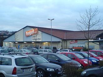 Tegut - A Tegut store in Bad Kissingen, Bavaria