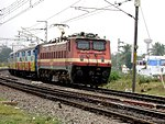 Telangana Express with WAP4 Loco