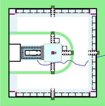 Plattegrond Tempel Van Salomo.Derde Tempel Wikipedia