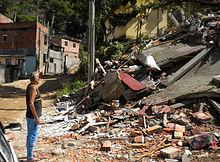 How did the mudslide in brazil happen dating