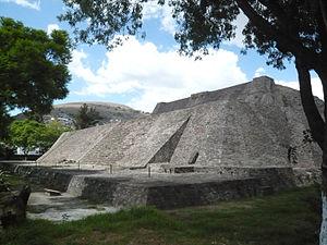Tenayuca - The Aztec pyramid of Tenayuca