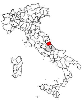 Magliano (Torricella Sicura) human settlement in Torricella Sicura, Province of Teramo, Abruzzo, Italy