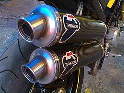 Scarichi Ducati Termignoni passaggio alto per Monster S2R