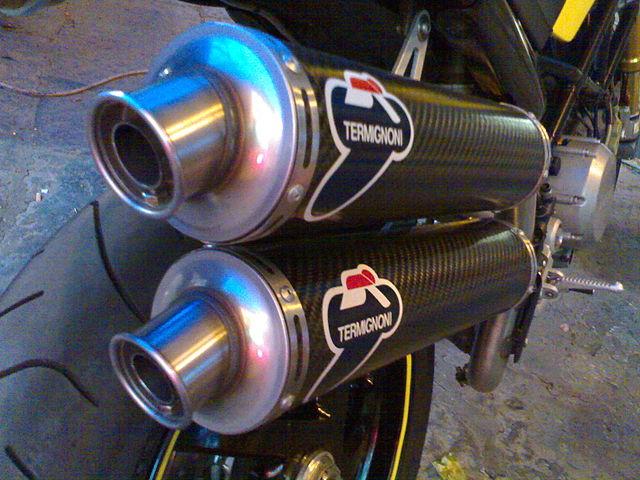 Ducati Termignoni Exhaust Sound
