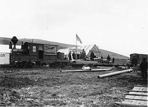 Wild Goose Railroad - Wild Goose Railroad at Anvil Creek, Alaska