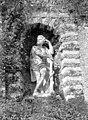 Terrasse et grotte de rocaille - Statue située dans une niche de la terrasse, Hercule - Juvisy-sur-Orge - Médiathèque de l'architecture et du patrimoine - APMH00023496.jpg